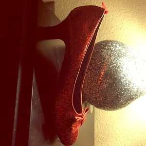 This is a high heel that looks like a slipper